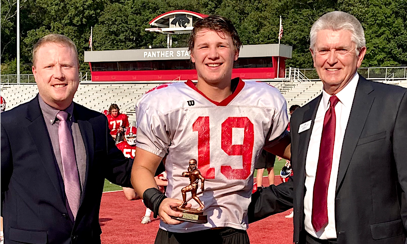 Cabot linebacker Payson Woods - FCB Scholar Athlete of the Week