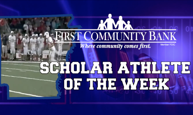 Mountain Home TB Gage Hershberger - FCB Scholar Athlete of the Week