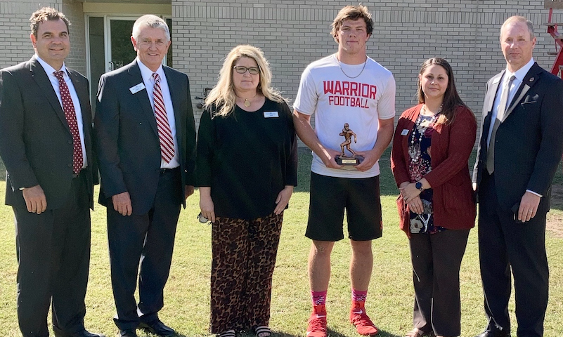 East Poinsett County QB Preston Rains - FCB Scholar Athlete of the Week