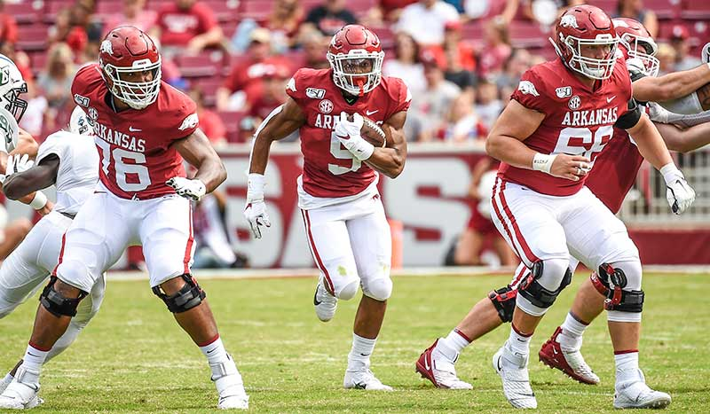 HOGS prep for talented A&M; Notes