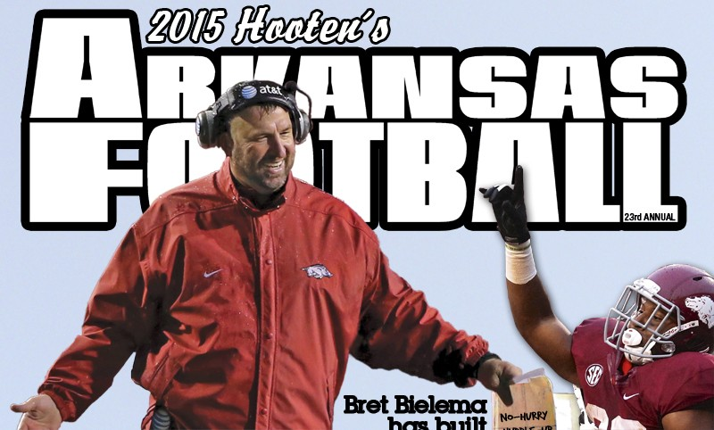 23rd annual Hooten's Arkansas Football on newstands