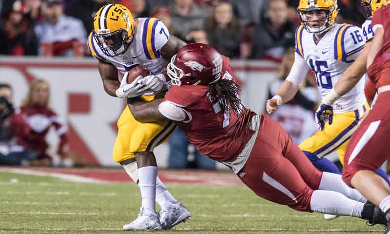 Hogs: D line braces for TCU hurry-up