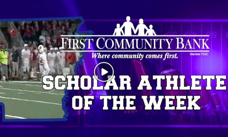 Harding Academy QB named Scholar Athlete of the Week