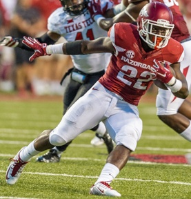 Hogs: RB Williams enjoys heavy load; more notes