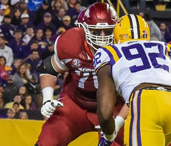 Hogs brace for A&M defensive freaks; notes