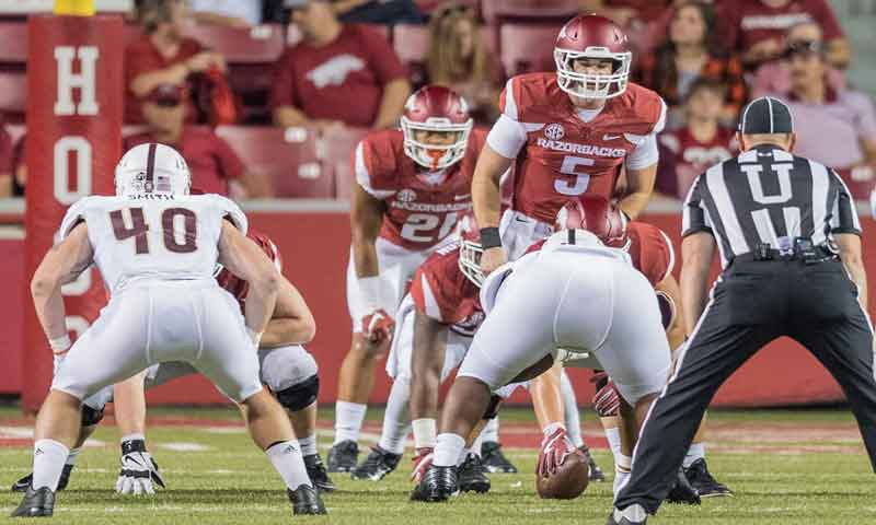 Hogs: Backup QBs battle & perform well; more notes