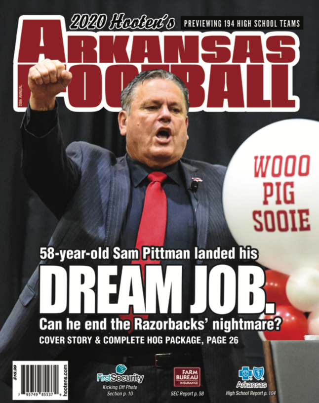 2020 Hooten's Arkansas Football available now