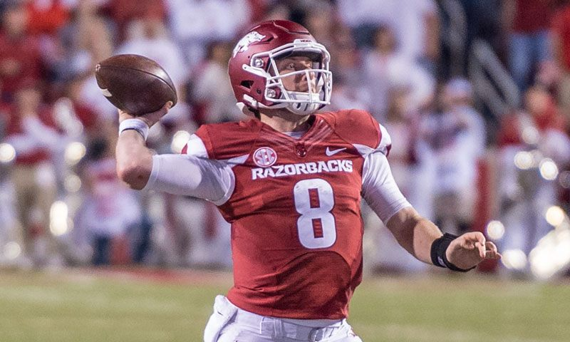 Hogs: Young wideouts high on senior QB & vice versa