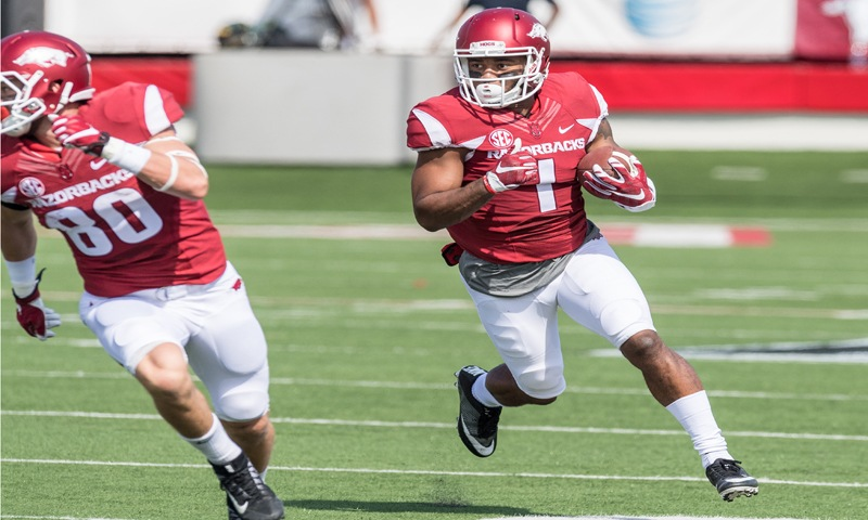 Hogs: WR Jared Cornelius back to top form