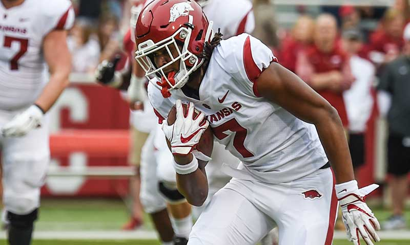 HOGS: Frosh WR Knox still out; notes