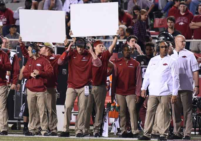 Hogs: coaches take heat, feel for their families