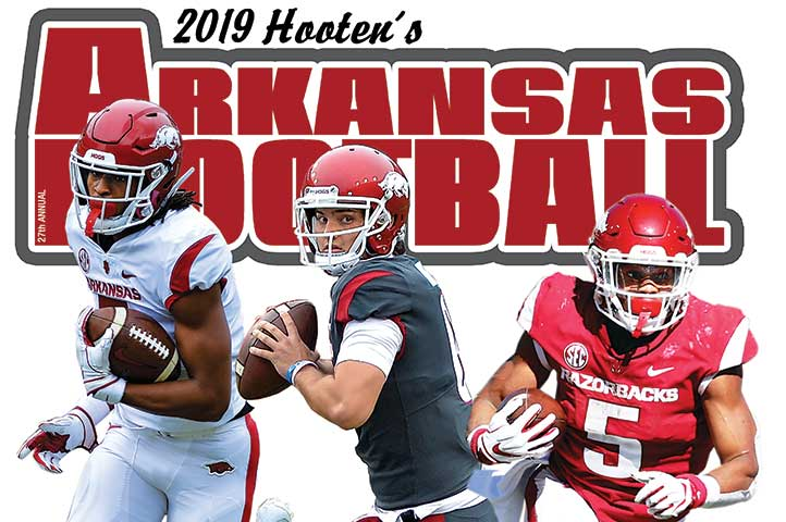 Hooten's Arkansas Football book on sale NOW