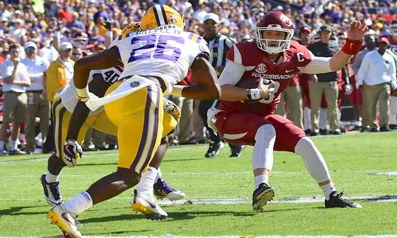 Hogs: QBs Allen, Storey ready for MSU