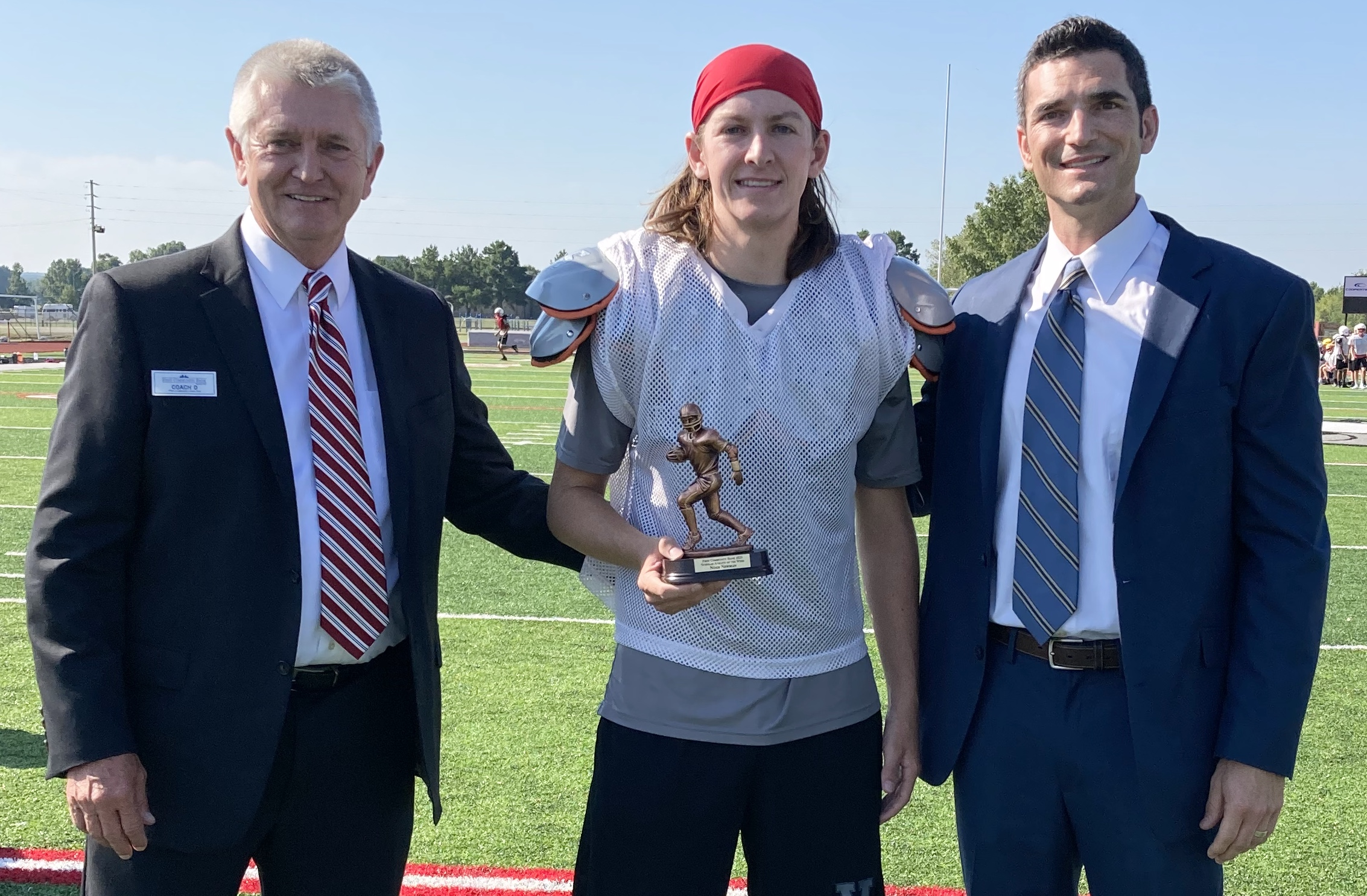 Vilonia kicker earns First Community Bank Scholar Athlete of the Week