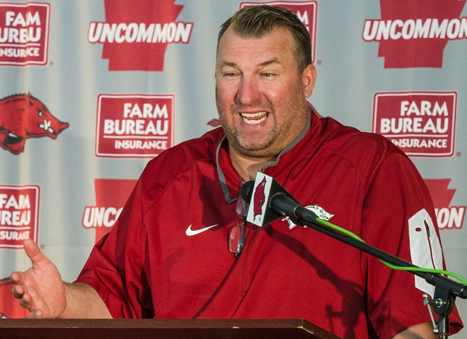 Next BEING Bret Bielema