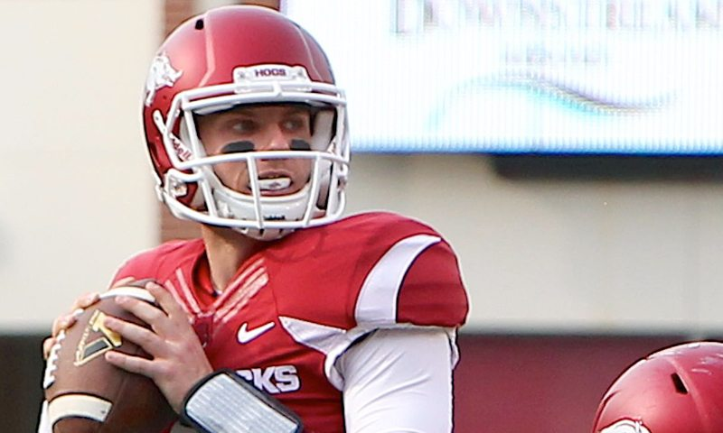 Hogs: Austin Allen opens spring drills as No. 1 QB; a surprise at LB; more notes
