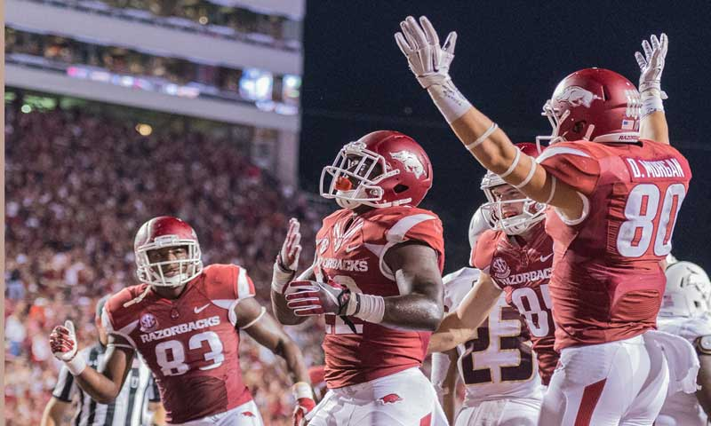 Gameday: Hog seniors go for 3 straight over LSU