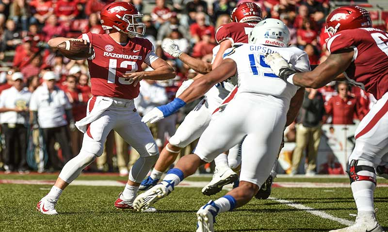 HOGS: Wagner goes unnoticed at left tackle