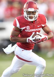 Hogs: Storey gets time as #2 QB; Reed struggles at WR; Cantrell surges at TE; notes
