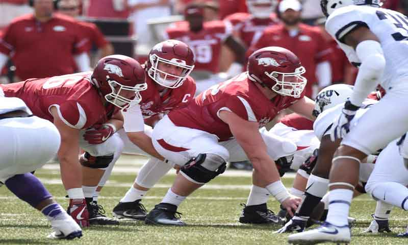 Hogs: QB Allen trying too hard; more notes
