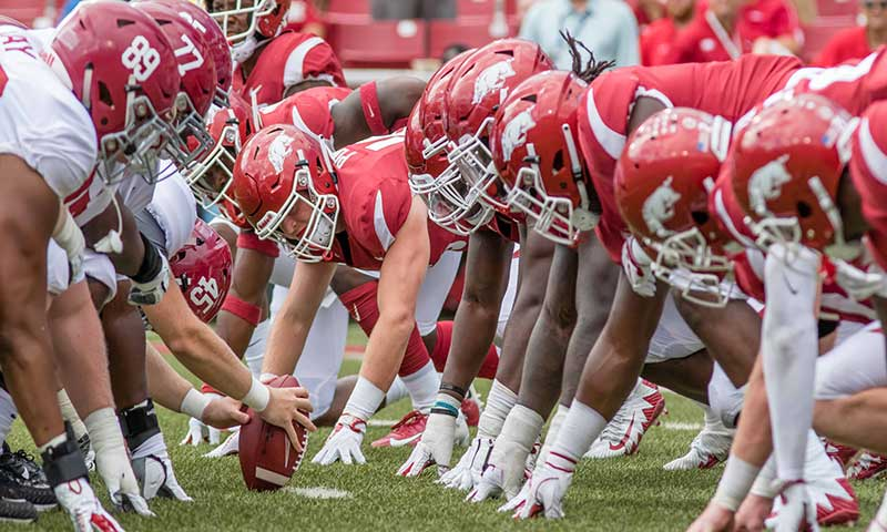HOGS must protect QB; notes