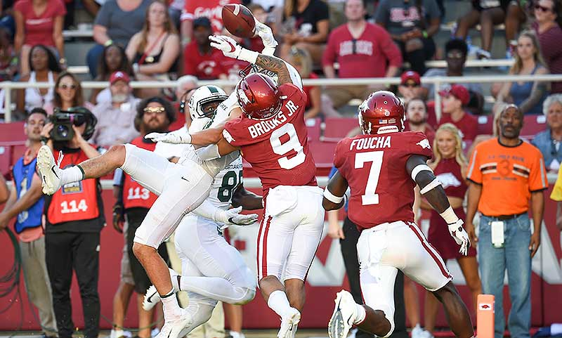 HOGS end another skid, pick off Ole Miss