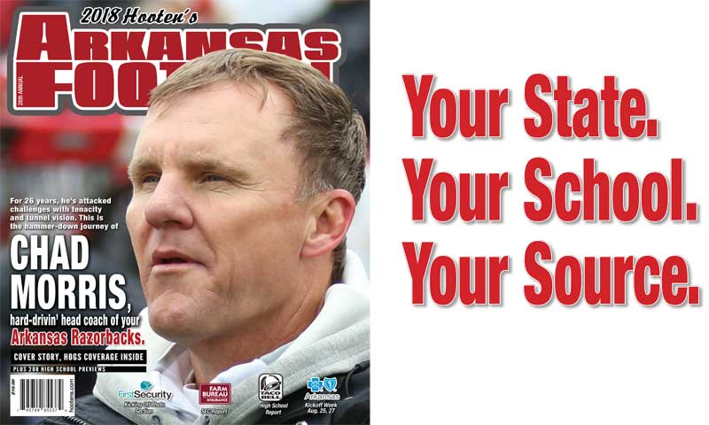 Hooten's Arkansas Football on sale statewide