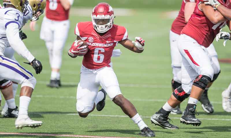 Hogs: Morris evaluation realistic after 2nd scrimmage