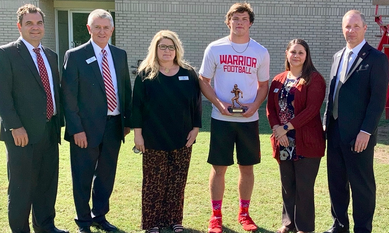 East Poinsett County QB named FCB Scholar Athlete of the Week