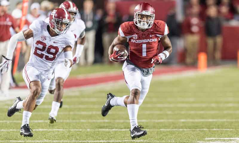 Hogs: Cornelius full-go for TCU's speedy D