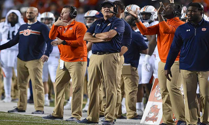 HOGS: Malzahn will have No. 9 Auburn ready