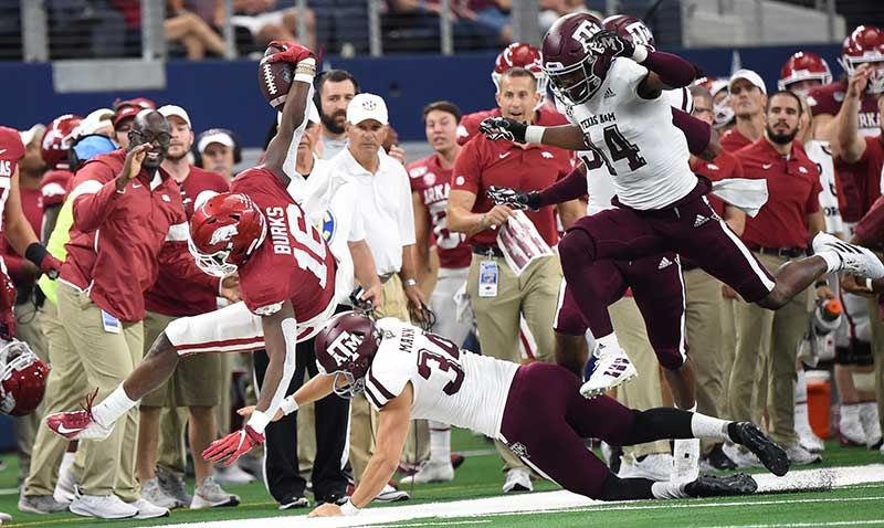HOGS regroup; staff recruits after A&M loss
