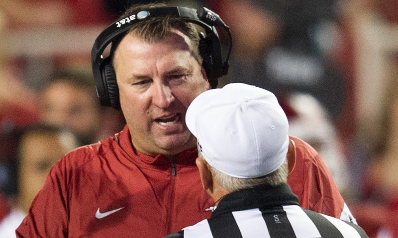 Hogs: talented trio in Bielema's doghouse; QB race; Froholdt to O line; more notes