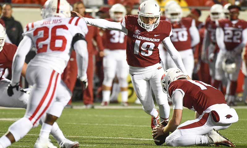 HOGS: QB race open; kickers; more notes