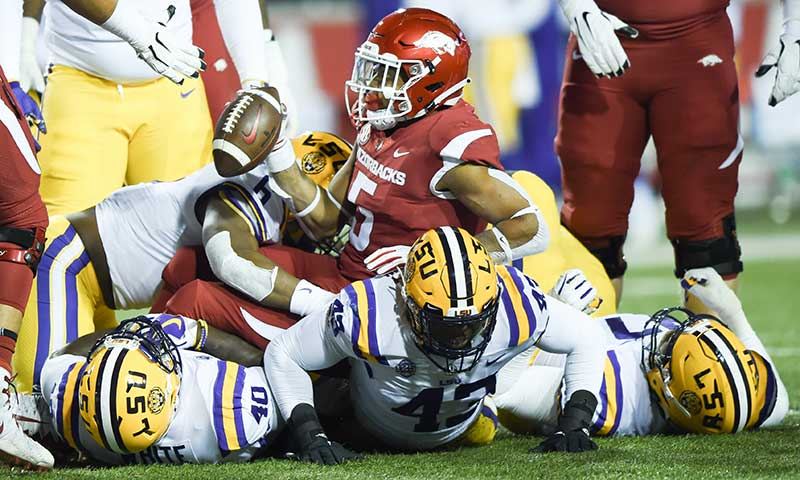 HOGS heal up, prep for Mississippi St.