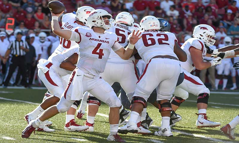 HOGS: Morris shuffles O line left side; notes