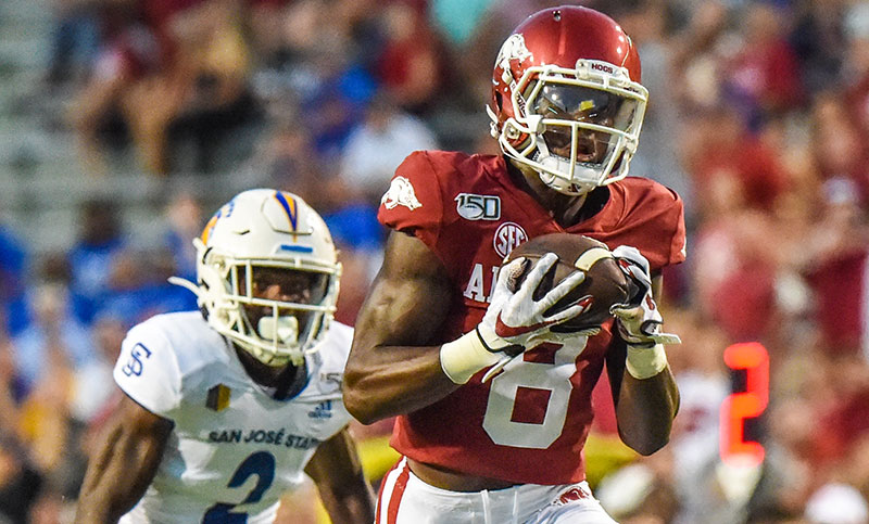 HOGS: Receivers finally healthy; notes
