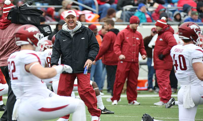 HOGS: Morris vows great days ahead