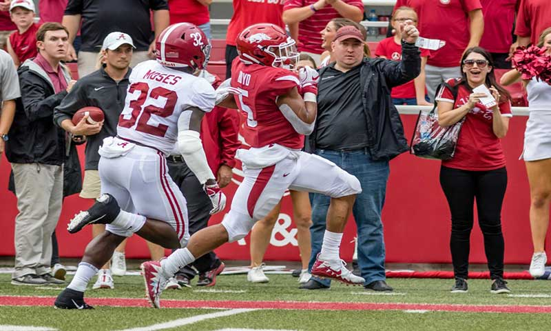 HOGS, Ole Miss eye first SEC win