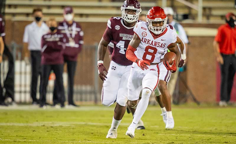 HOGS fight back; receivers emerge