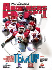 2011 Hooten's Arkansas Football Magazine