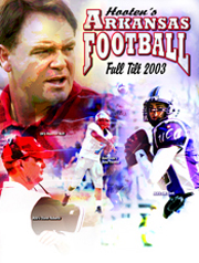 2003 Hooten's Arkansas Football Magazine